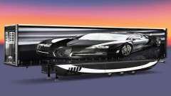 Сборник скинов на полуприцепы v2.0 для Euro Truck Simulator 2