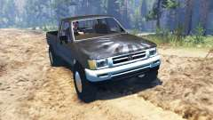 Toyota Hilux Xtra Cab 1993 для Spin Tires
