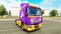 Скин Rensped на тягач Renault для Euro Truck Simulator 2