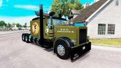 Скин WW2 Style на тягач Peterbilt 389 для American Truck Simulator