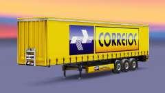 Скин Correios Logistic на полуприцепы для Euro Truck Simulator 2