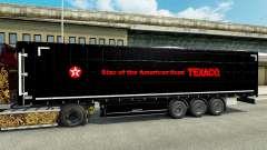 Скин Texaco на полуприцепы для Euro Truck Simulator 2