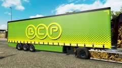 Шторный полуприцеп Krone BCP для Euro Truck Simulator 2