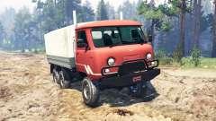 УАЗ-33036 6x6 для Spin Tires