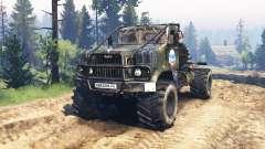 КрАЗ-258 v3.0 для Spin Tires