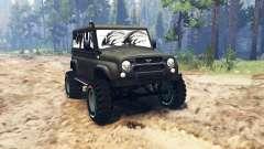 УАЗ-3159 Барс для Spin Tires