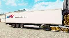 Скин LOXX Logistics на полуприцеп-рефрижератор для Euro Truck Simulator 2