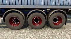 Новые колёса для полуприцепов для Euro Truck Simulator 2