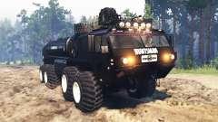 Oshkosh HEMTT M977 Huntsman для Spin Tires