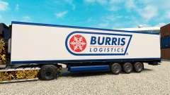 Скин Burris Logistics на полуприцеп-рефрижератор для Euro Truck Simulator 2
