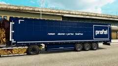 Скин Profel на полуприцепы для Euro Truck Simulator 2