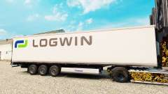 Скин Logwin Logistics на полуприцеп-рефрижератор для Euro Truck Simulator 2