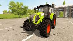 CLAAS Axion 820 для Farming Simulator 2017