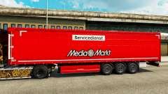 Скин Media Markt на полуприцепы для Euro Truck Simulator 2