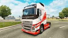 Скин TruckSim на тягач Volvo для Euro Truck Simulator 2