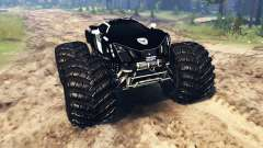 Marussia B2 Police [monster truck] для Spin Tires