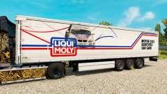 Скин Liqui Moly на полуприцепы для Euro Truck Simulator 2