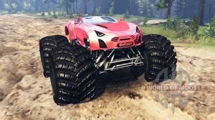 Laraki Epitome [monster truck] для Spin Tires