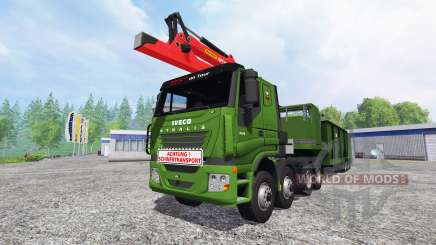 Iveco Stralis [wood chippers] v1.1 для Farming Simulator 2015