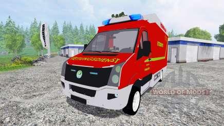 Volkswagen Crafter Feuerwehr Bochum для Farming Simulator 2015