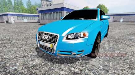 Audi A4 quattro Avant (B7) для Farming Simulator 2015