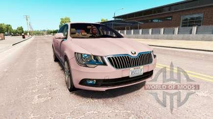 Skoda Superb для American Truck Simulator