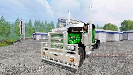 Peterbilt 379 v1.9 для Farming Simulator 2015