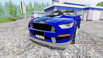 Ford Mustang GT для Farming Simulator 2015