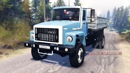 ГАЗ-3309 для Spin Tires