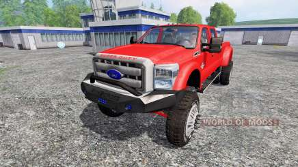 Ford F-450 [custom] для Farming Simulator 2015