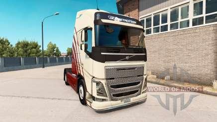 Volvo FH v0.7.5b для American Truck Simulator