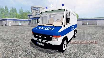 Mercedes-Benz Vario Polizei для Farming Simulator 2015