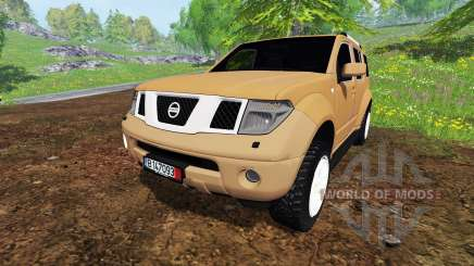 Nissan Pathfinder для Farming Simulator 2015