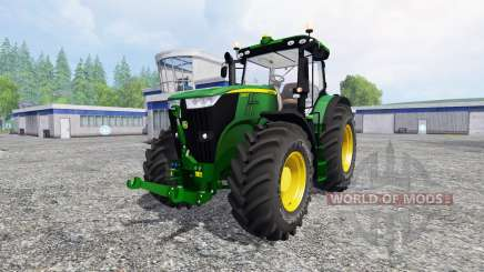 John Deere 7280R v3.0 для Farming Simulator 2015