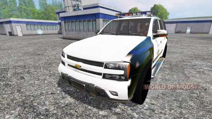 Chevrolet TrailBlazer Police K9 для Farming Simulator 2015