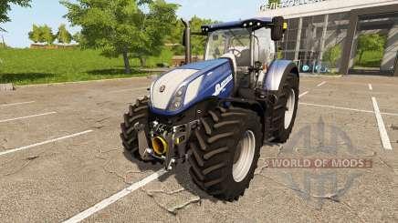 New Holland T7.270 Heavy Duty Blue Power для Farming Simulator 2017