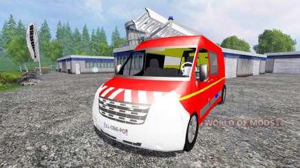 Renault Master VTU для Farming Simulator 2015