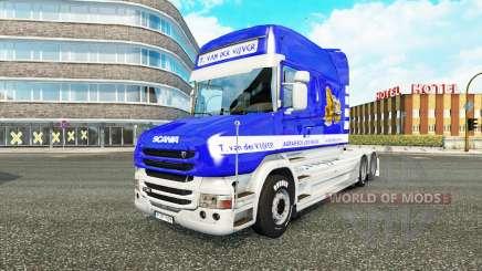 Scania T Longline [T. van der Vijver] для Euro Truck Simulator 2