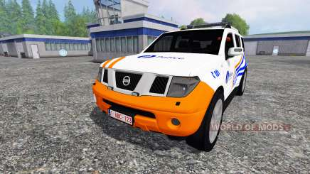 Nissan Pathfinder [federal police] для Farming Simulator 2015