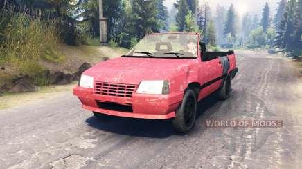 Opel Kadett Cabrio (E) для Spin Tires