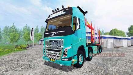 Volvo FH [forest] для Farming Simulator 2015