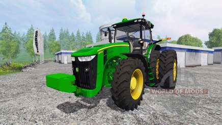 John Deere 8370R v4.0 для Farming Simulator 2015