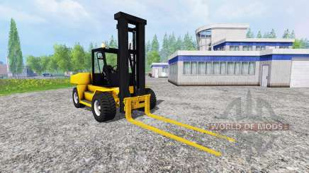 Komatsu EX50 v1.85 для Farming Simulator 2015