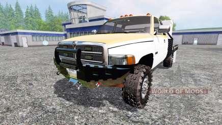 Dodge Ram 2500 [feed truck] для Farming Simulator 2015