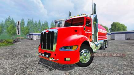 Peterbilt 387 Fire Department для Farming Simulator 2015