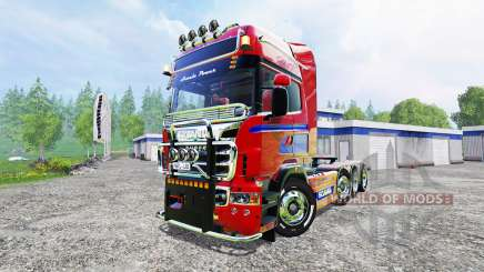 Scania R560 8x4 для Farming Simulator 2015