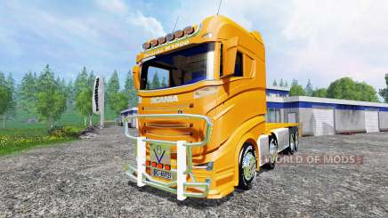 Scania R1000 [container truck] для Farming Simulator 2015