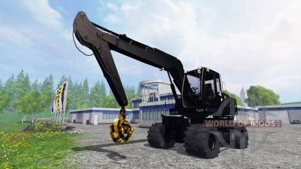 Liebherr A900C [black edition] для Farming Simulator 2015