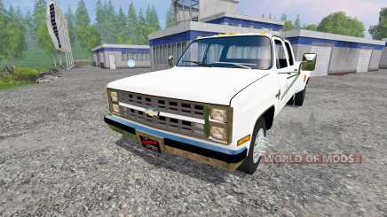 Chevrolet Silverado 3500 1984 для Farming Simulator 2015
