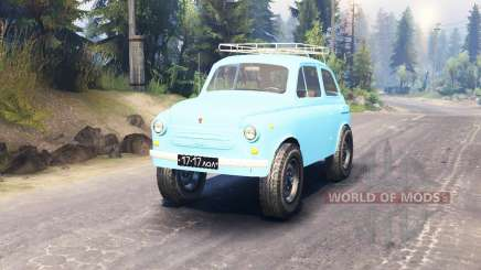 ЗАЗ-965 Запорожец для Spin Tires